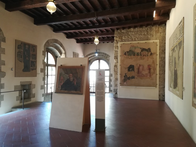 The Civic Museum at Sansepolcro with important works by Piero della Francesca