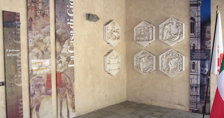 House of Giotto in Mugello: artistic renderings