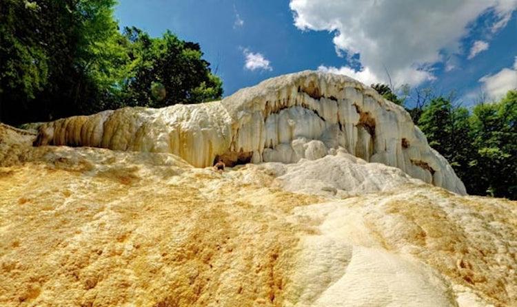 Terme in toscana le sorgenti di acqua calda all 39 aperto di - Bagni di san filippo inverno ...