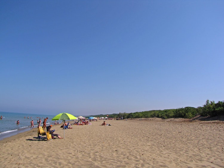Best Beaches in Val di Cornia: Rimigliano beach