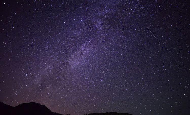 The night sky for San Lorenzo