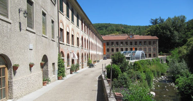 Wool factory in Stia in Casentino Valley