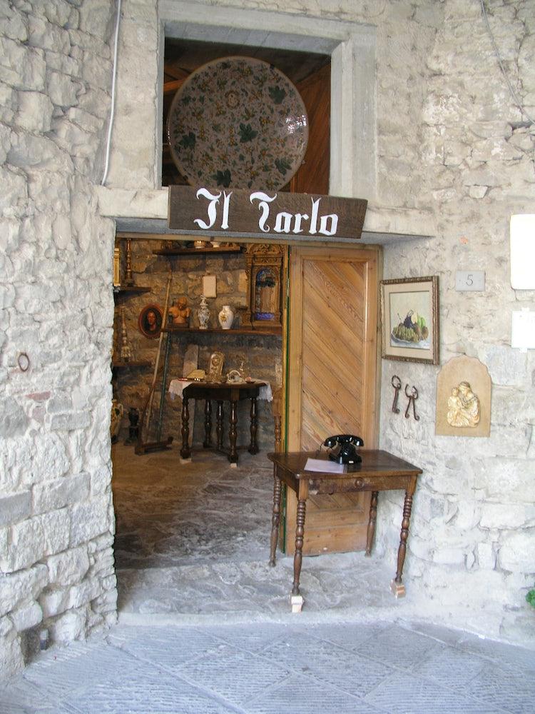 Selezione di luoghi dove andare a fare shopping nel Chianti