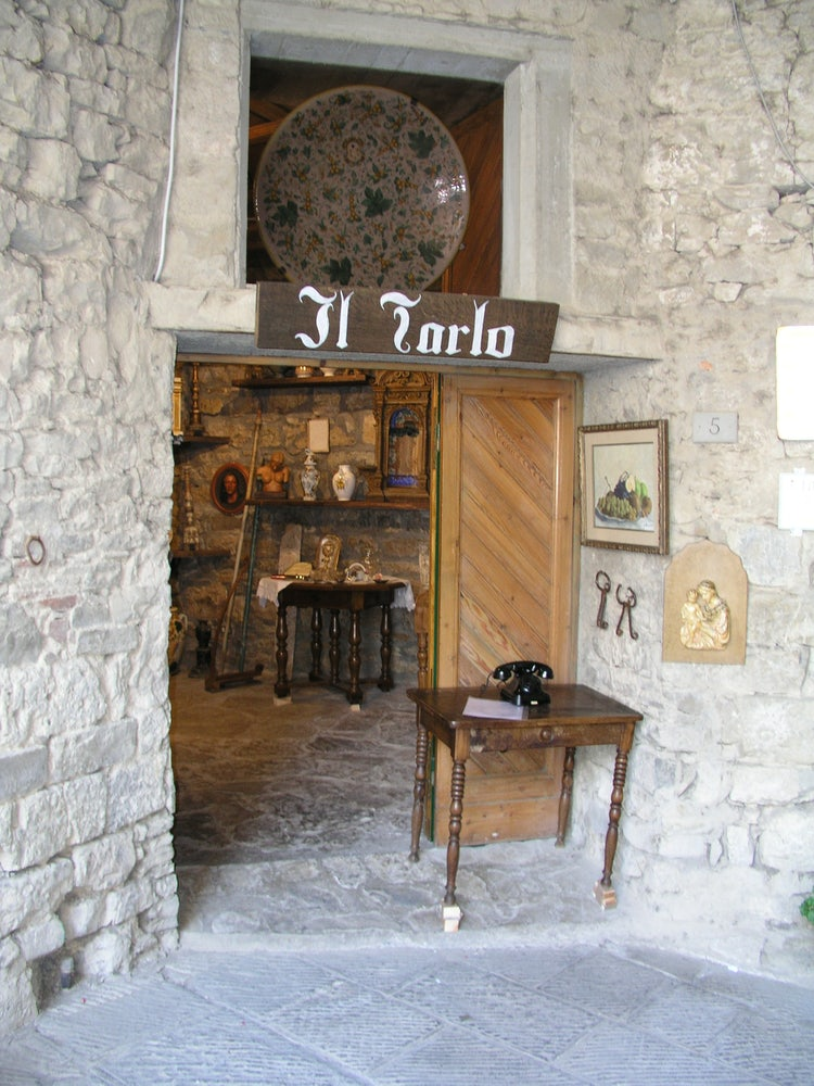Shops in Castellina in Chianti