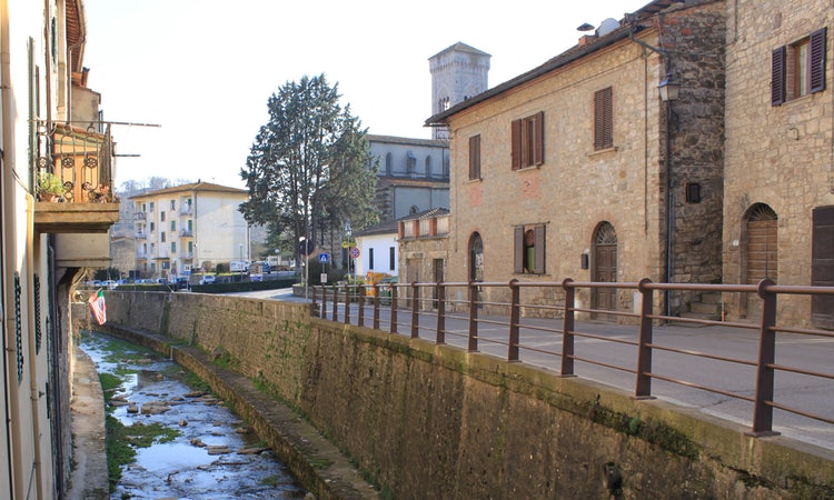 Street views of Gaiole in Chianti