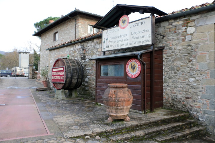 Wine Cantina in Greve in Chianti, Castello Uzzano
