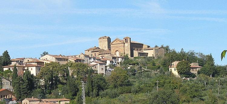 Panzano skyline