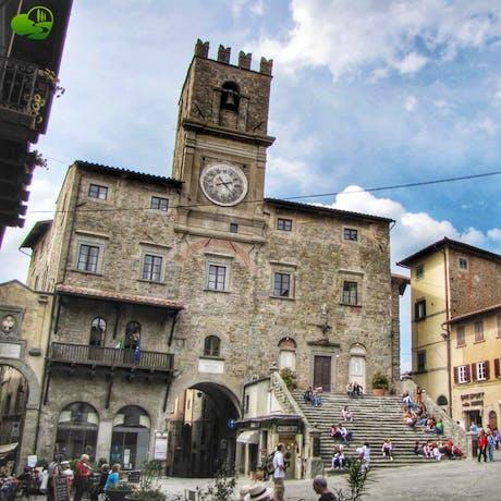 Cortona in Southern Tuscany near Arezzo,Tuscany