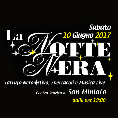 Proram for Notte Nera June 2017