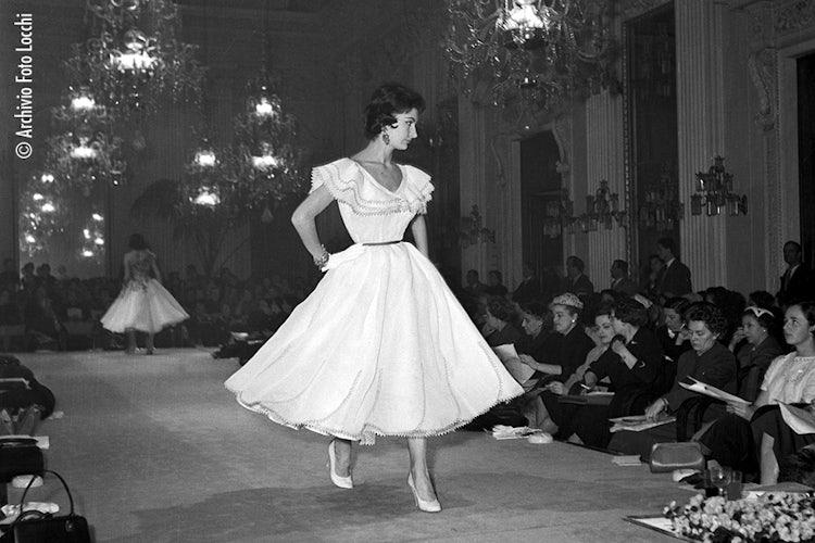 Fashion in Florence:  © Archivio Foto Locchi