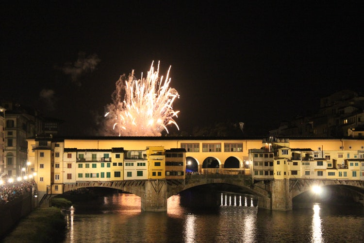 fuochi d'artificio firenze