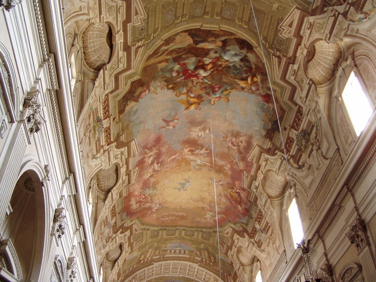 Ceilings in Brancacci Chapel