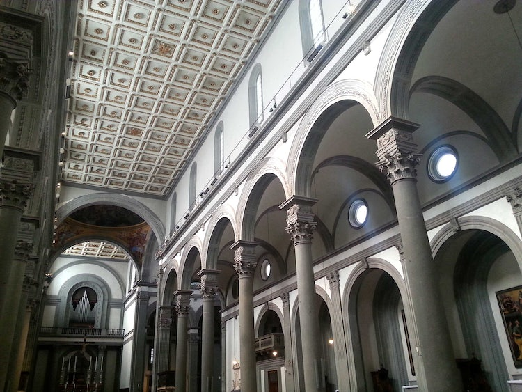 San Lorenzo Church in Florence, Italy: Medici Chapels in ...