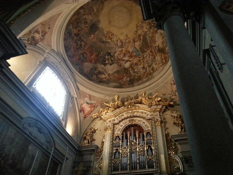 Pitture San Marco Interni.La Basilica Di San Marco A Firenze