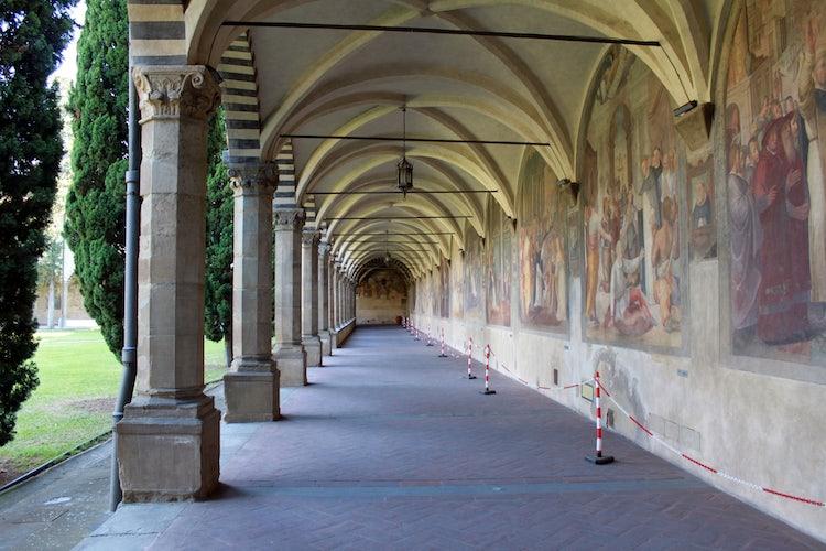 Santa Maria Novella in Florence:  Large Cloister