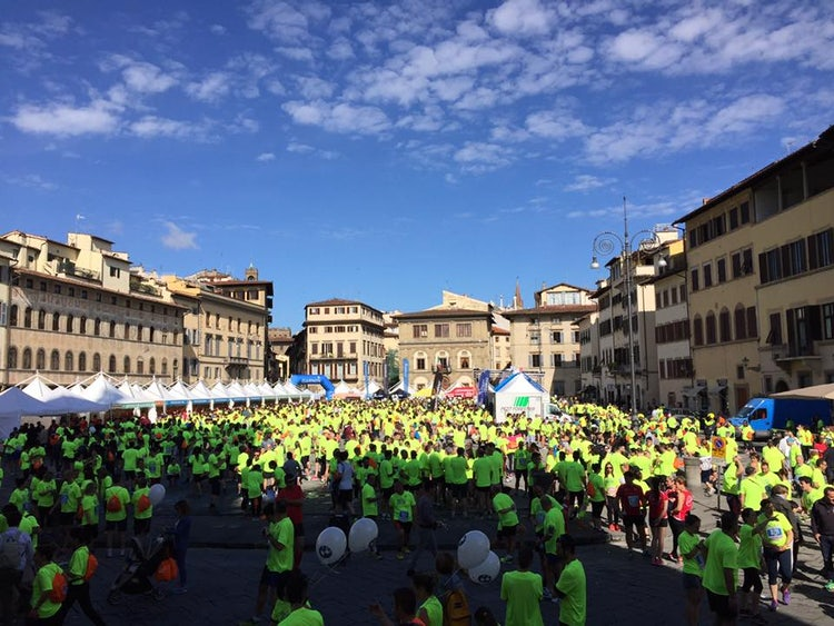 Discover Tuscany Team runs the marathon, like a DeeJay