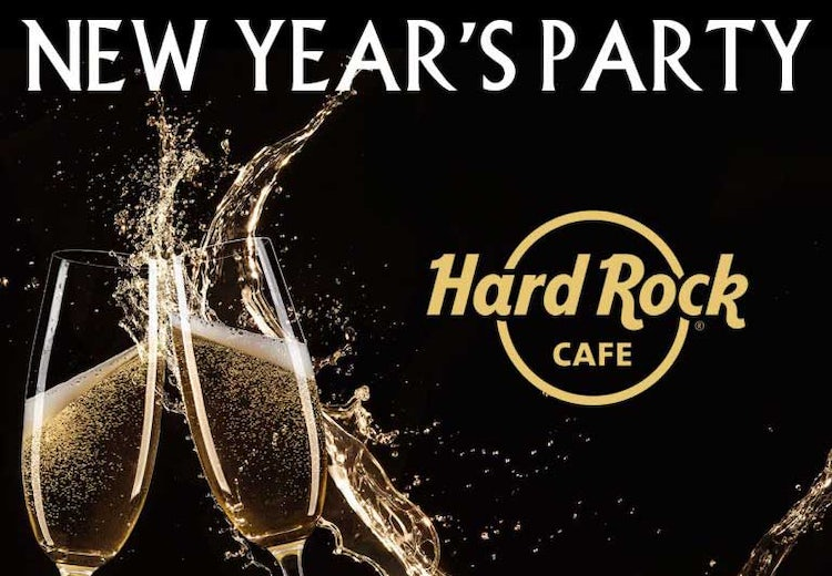 New Years Eve in Florence Italy with Hard Rock Cafe
