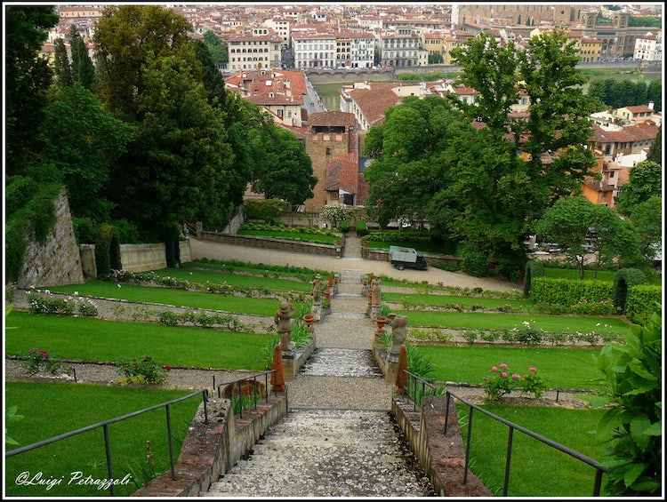 Gardens in florence with a view bardini boboli rose and iris gardens in florence - Giardino delle rose firenze ...
