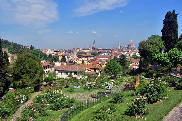 Rose Garden: an outdoor visit while exploring Florence