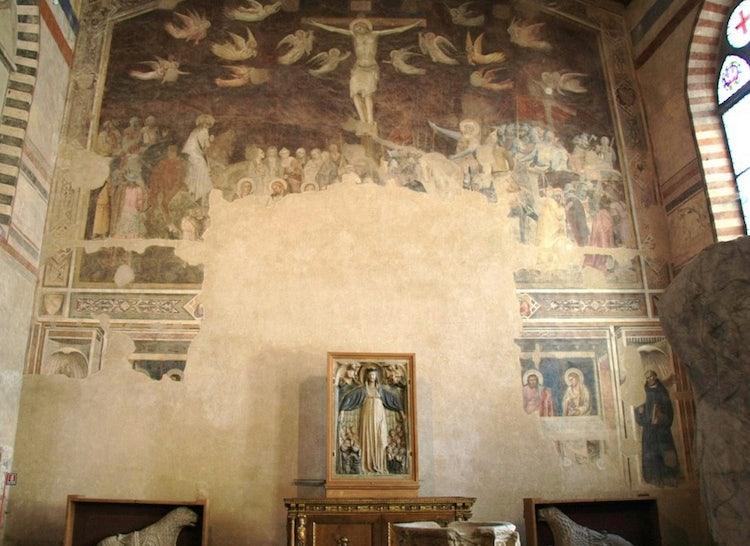 Cenacolo at Santo Spirito in Florence, Tuscany