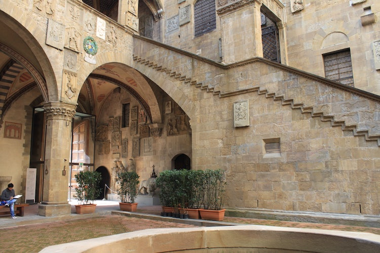 Museo Del Bargello.National Museum Of The Bargello In Florence The Bargello Museum In