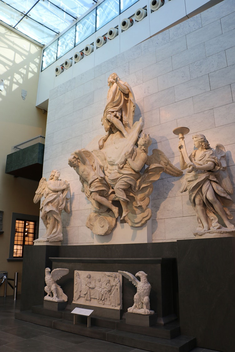 Girolamo Ticciati sculpture on display at the Opera del Duomo Museum in Florence