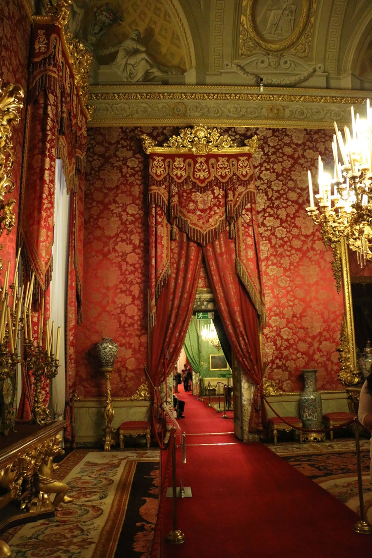 Royal Apartments at Pitti Palace