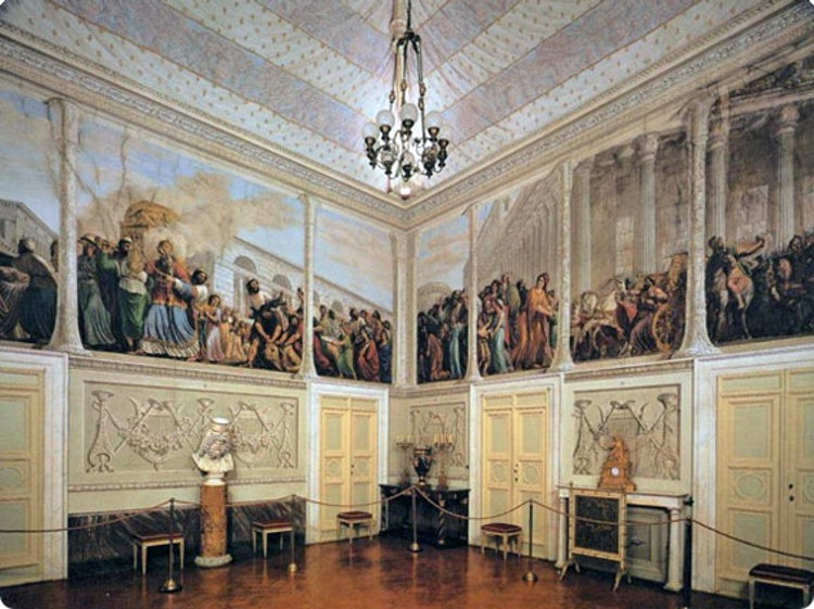 Palatine Gallery in Palazzo Pitti:The Hall of the Ark
