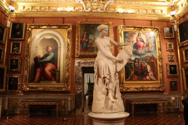 Palazzo Pitti and the Palatina Gallery
