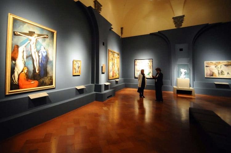 Palazzo Strozzi: Exhibition area