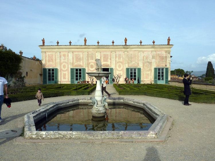 Porcelain museum - casino del cavaliere