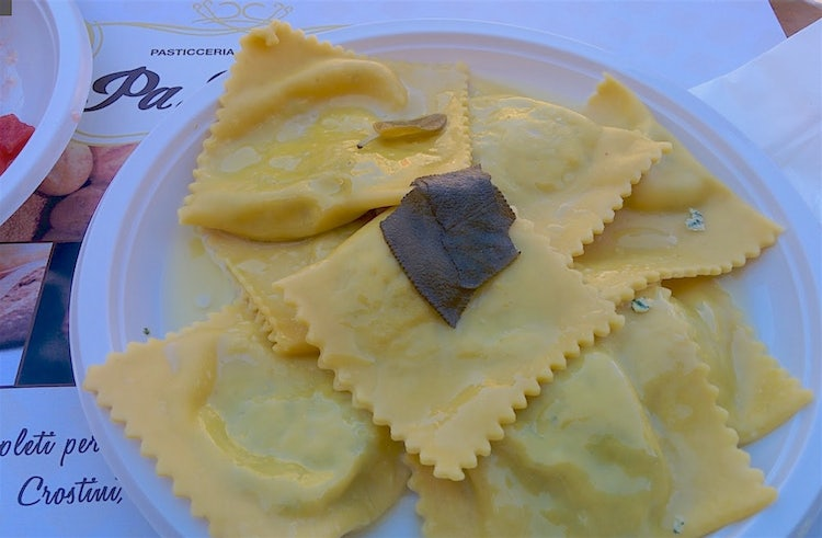 Sagra & Ravioli in Tuscany this summer