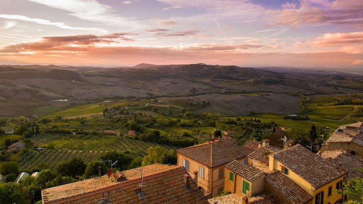 Dreamy landscapes in Tuscany for a Romantic Itinerary