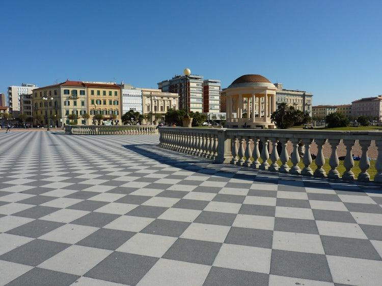 Livorno celebrating by the seaside