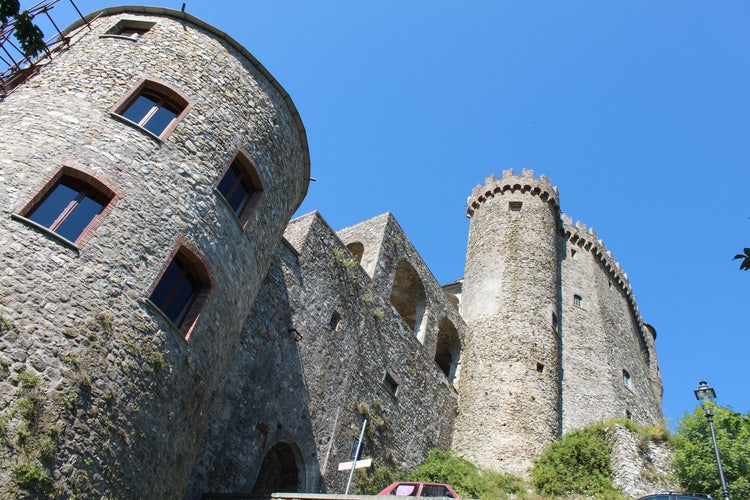 Castles dot the landscape in Lunigiana