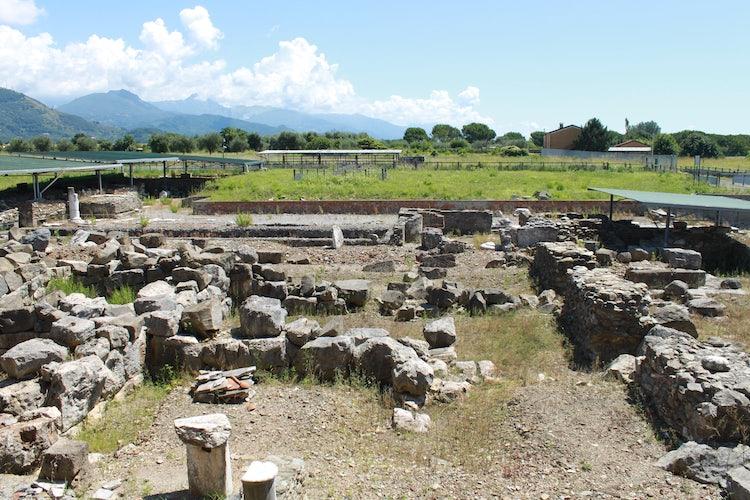 Roman ruins to explore in Lunigiana