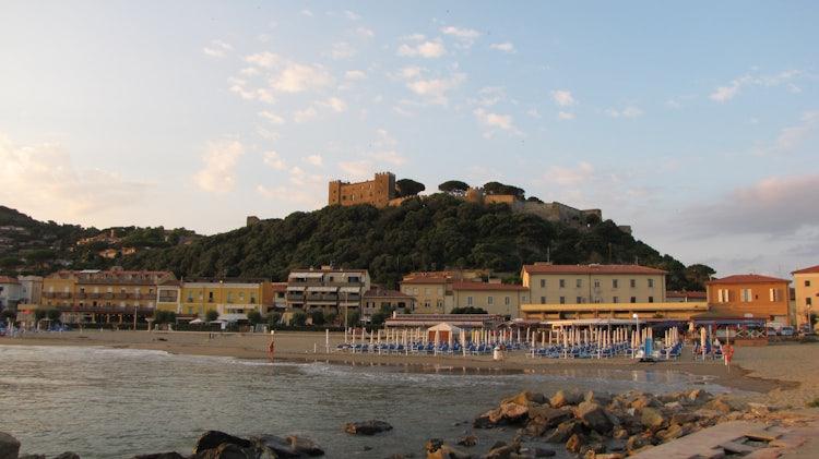 Castiglione della Pescaia in the Maremma, Tuscany