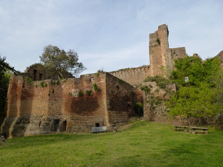 City Scene of Sovana in Meramma, Tuscany