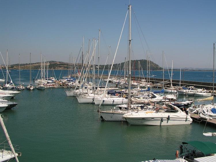 Il Porto di Talamone, Toscana