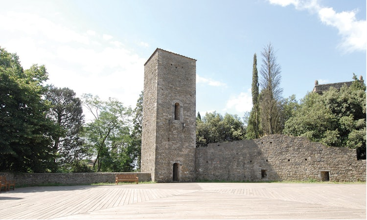 Fortress at Montecatini