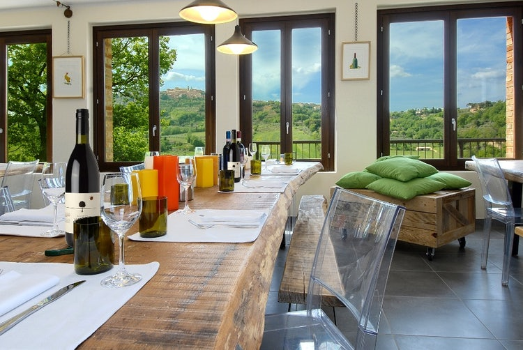 Salcheto tasting room and enoteca near Montepulciano
