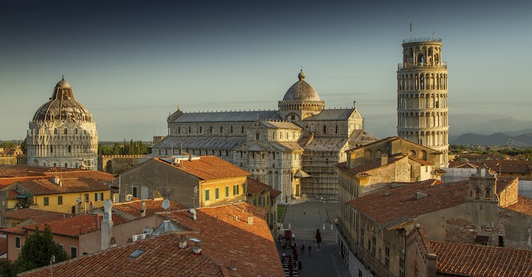 UNESCO Sites:  Pisa