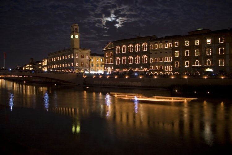 The Luminara candlelight June event in Pisa