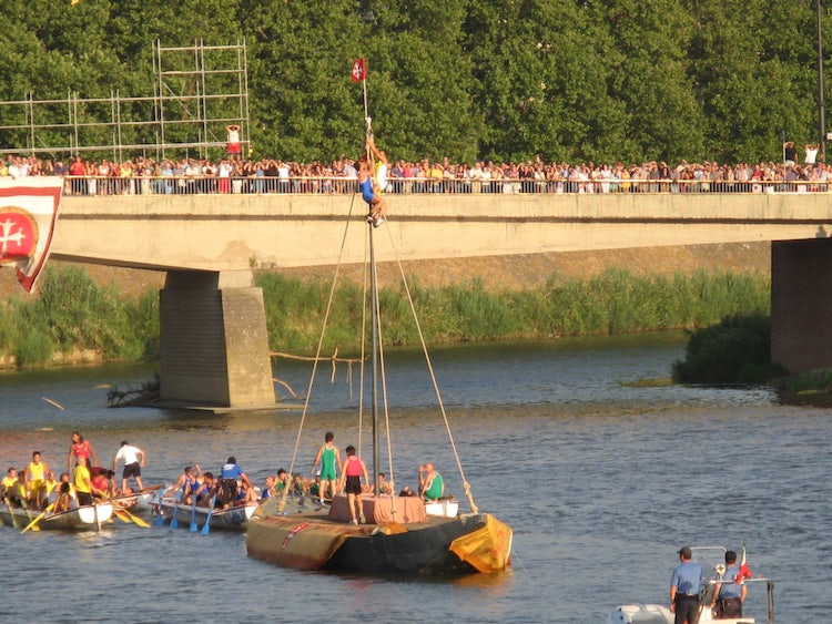 The Regatta held every June in Pisa for San Ranieri