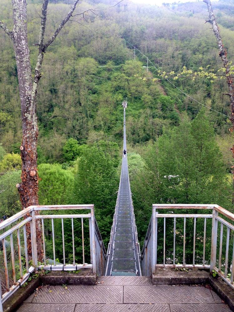 pistoia ponte sospeso