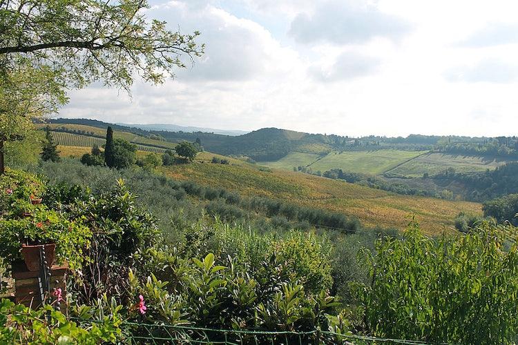 Panoramic views at  Agriturismo Vernianello