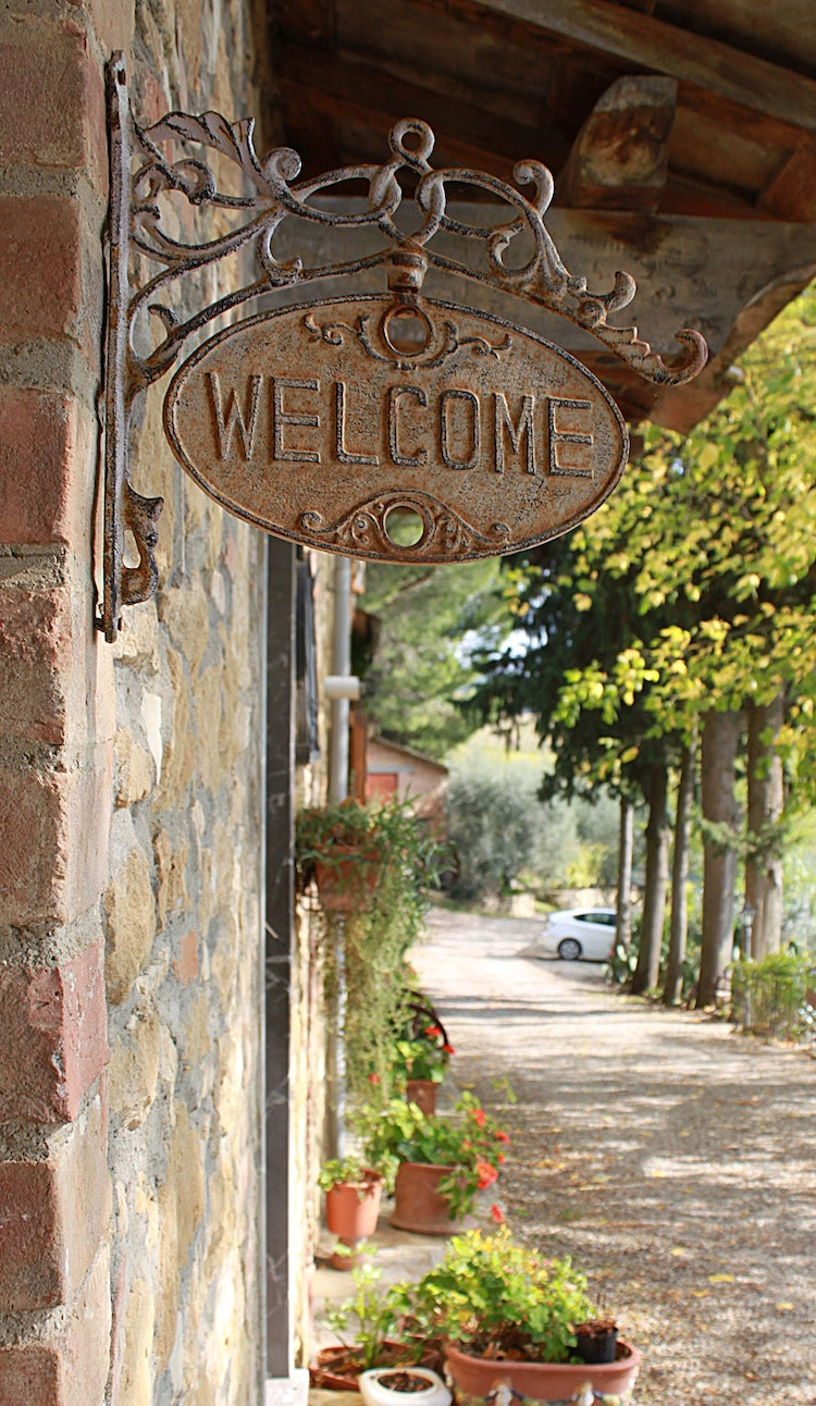 Warm welcome at  at  Agriturismo Vernianello