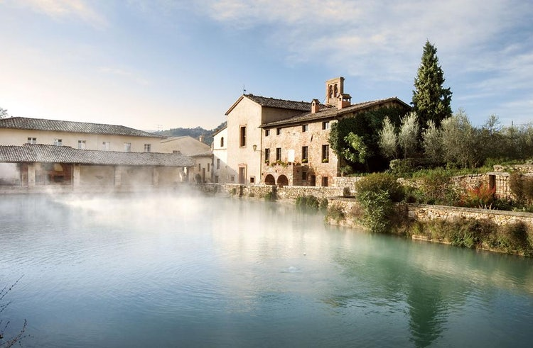 Spa wellness hotels in tuscany 39 s thermal hot springs destinations where to stay to relax pamper - Bagno vignoni spa ...
