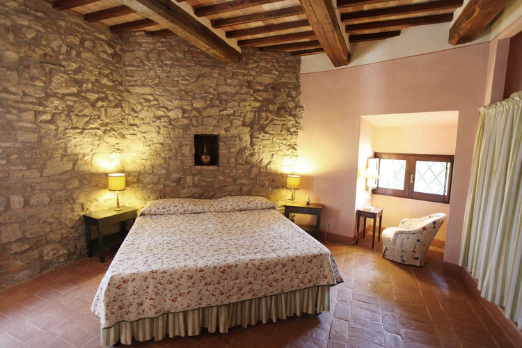 Double bedroom at Camporsevoli