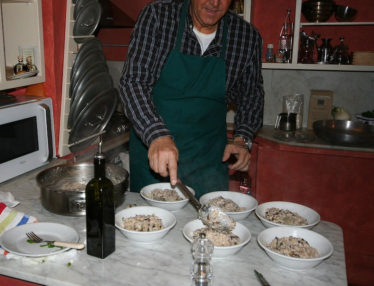 Cooking lessons at B&B Casa Palmira